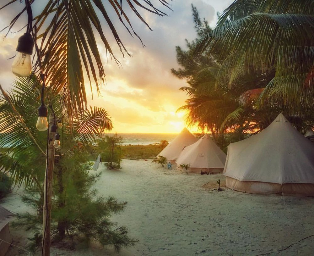 THE TENTS + BUNGALOWS
