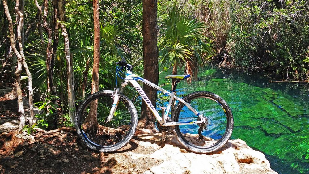 CENOTE BIKE TRAIL TOUR - .Duration 7 hours Tour starts at 8 amIncludes: ●Air condition transportation from town office●Guides (Spanish or English)