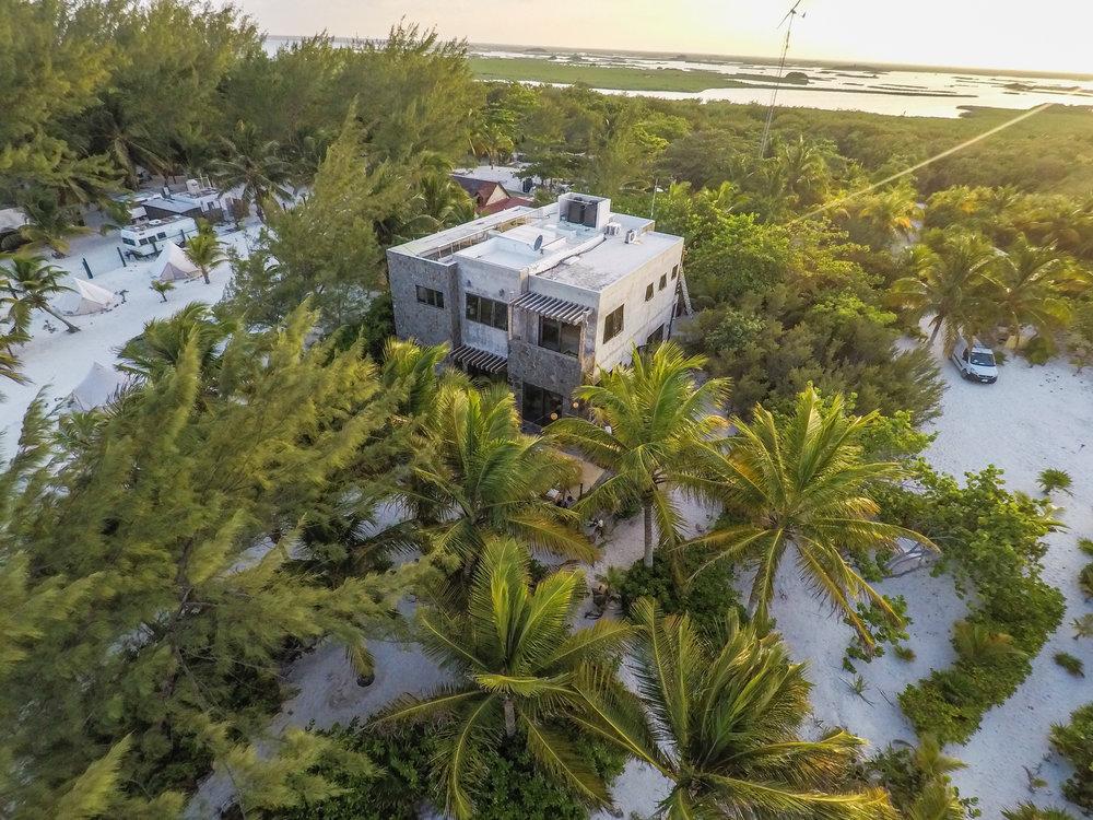 DRONE Lagoon side Casa Maya Kaan tulum sian kaan.jpg