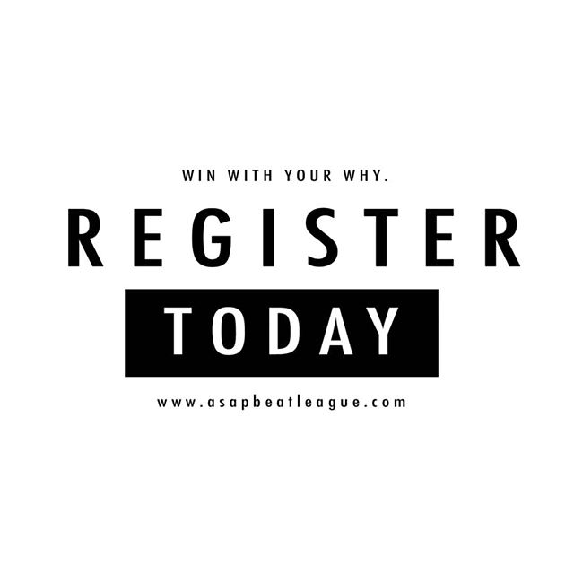 Be a part of something great. Registration is open and ongoing! . . Visit www.asapbeatleague.com to learn more. #linkinbio