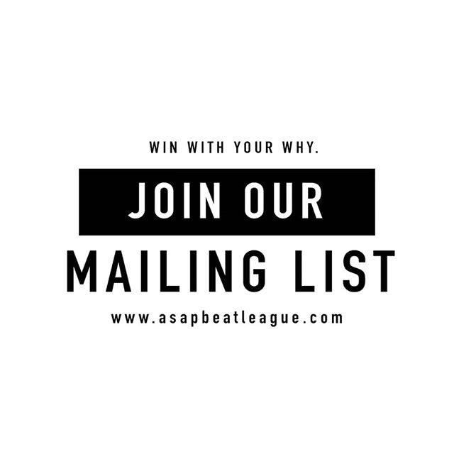 Join our mailing list and stay in the loop with upcoming events, news and opportunities! 🔥 . . visit www.asapbeatleague.com now to learn more. #linkinbio