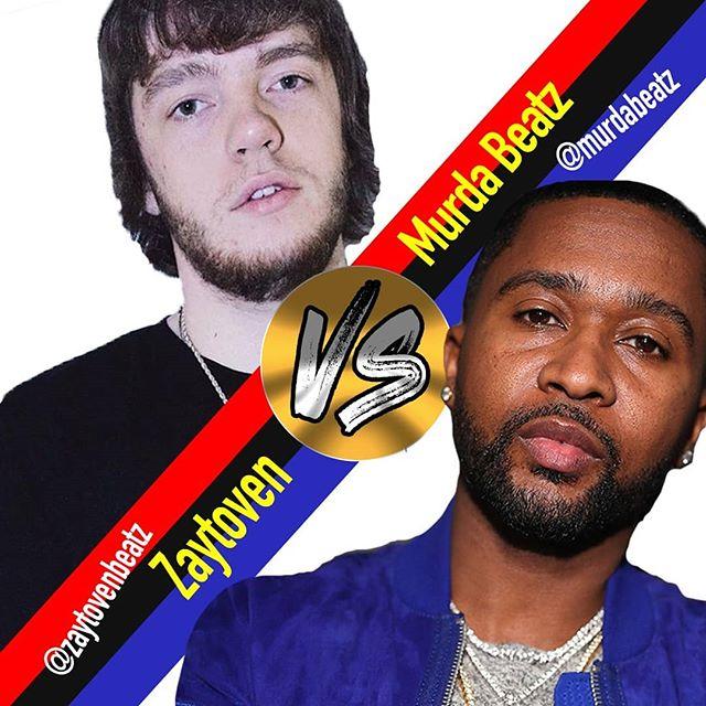 @murdabeatz VS. @zaytovenbeatz beat battle. Who you going for?! Comment your vote! 🔥🔥🔥