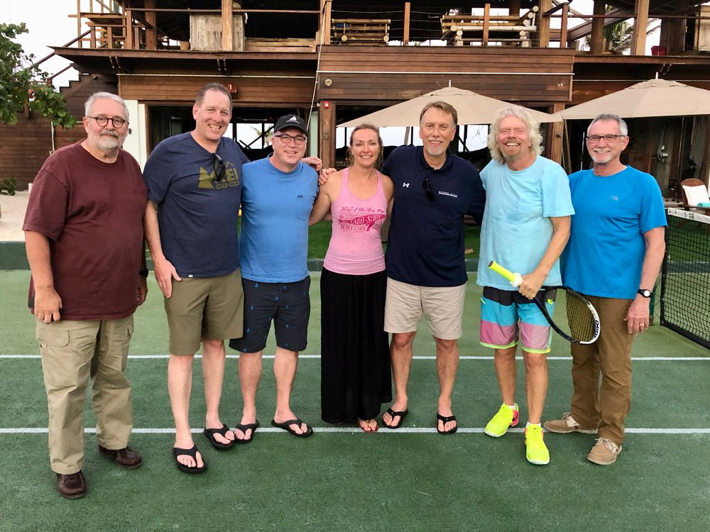 Leading To Serve Gathering, Richard Branson's Necker Island, British Virgin Islands