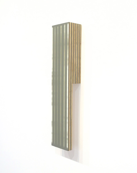 Ben Dallas About Nothing 20, 2018 Acrylic Glaze, Board, Plywood, Spackle 15.75 x 3.25 x 2.25 inches