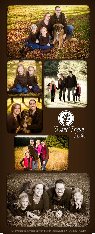 Family Portraits, Silver Tree Studio, Mount Horeb, WI