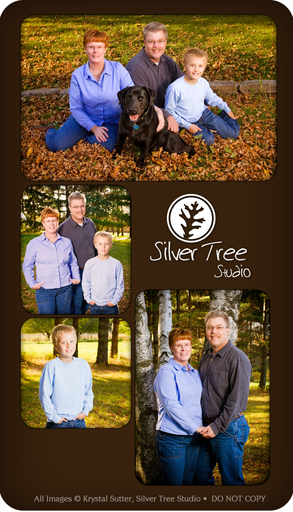 Mt. Horeb, WI, Family Portraits, Silver Tree Studio