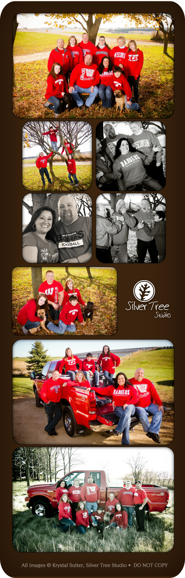 Family Pictures, Silver Tree Studio, Mount Horeb, WI