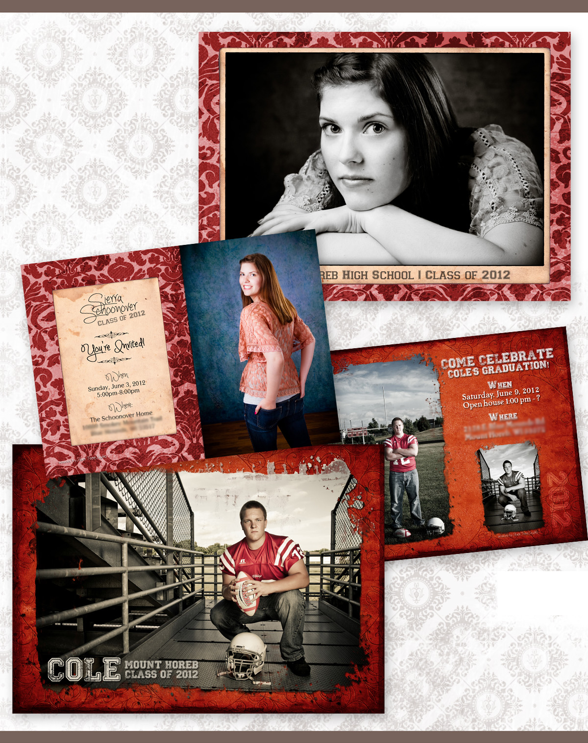 Reminder - Now's the time to order Graduation Announcements - 2013