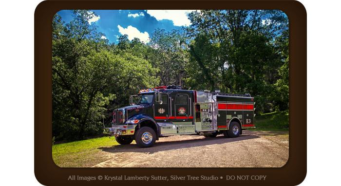 New Fire Engine 3, Mount Horeb Fire Department, FDMH, Krystal Lamberty Sutter
