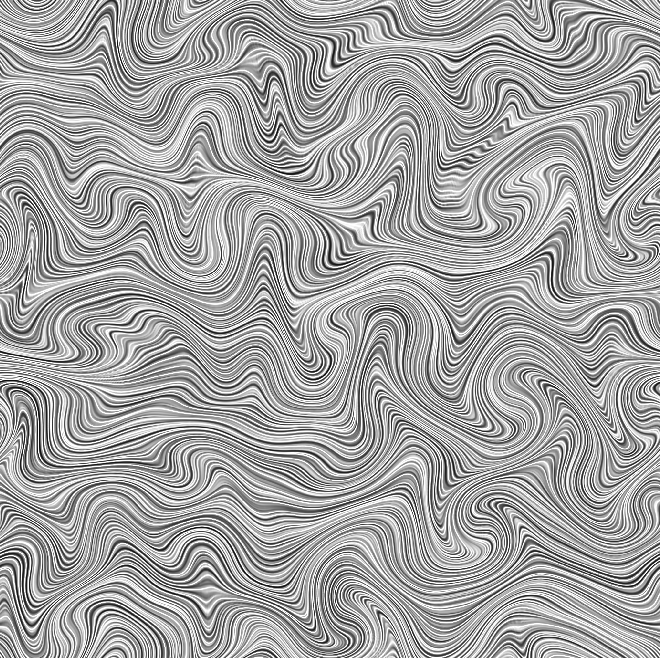 Anisotropic Noise Fluid Warped by Gaussian Noise