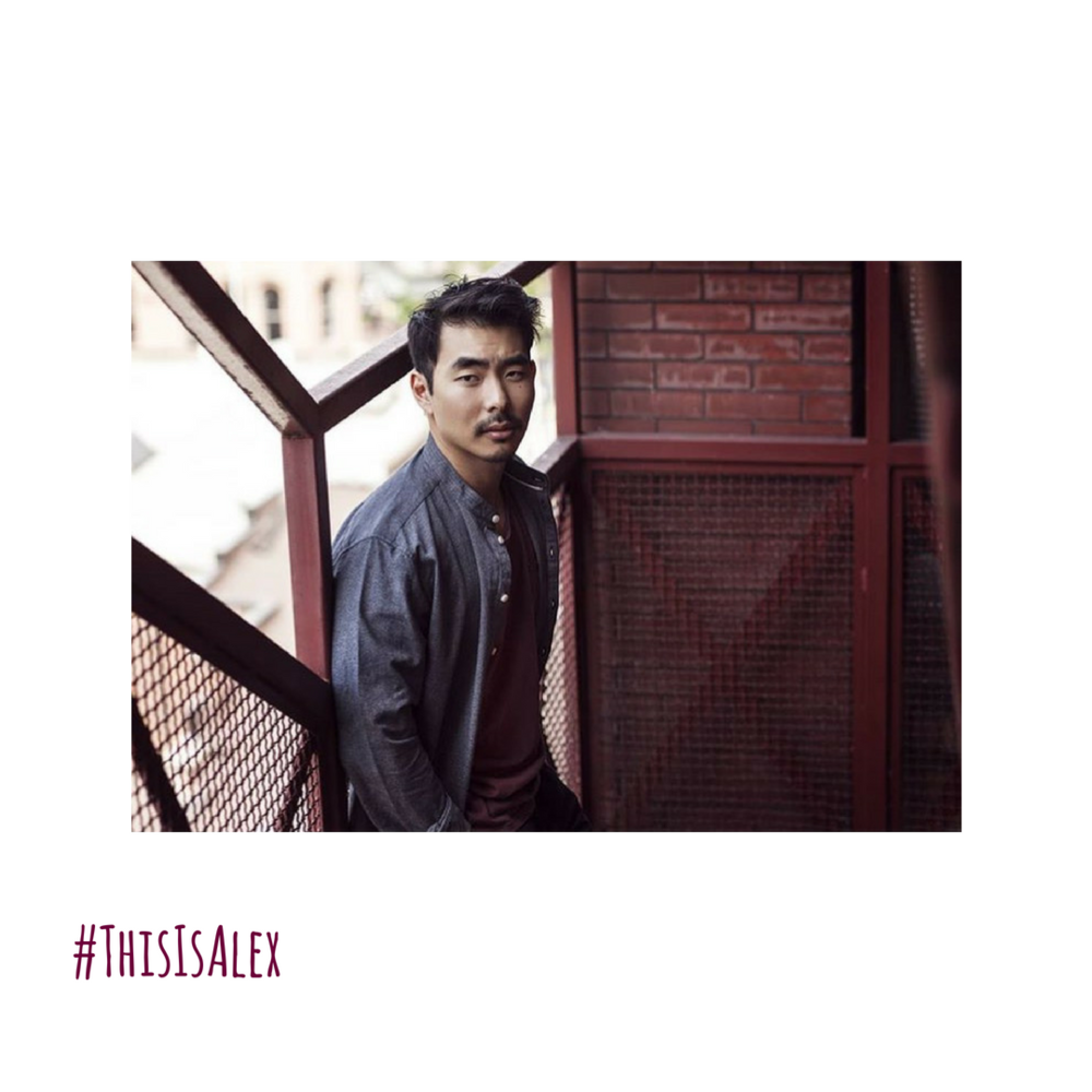 #ThisIsAlex - PLAYED BY LEE SHORTEN.Lee Shorten is a recovering lawyer turned writer and actor. He's part Korean, Japanese and Chinese but he's got white parents. Go figure. You can catch him on Amazon Studios' 'The Man in the High Castle' as Sgt Yoshida, on The CW's 'Supernatural' as some sort of demon and on SyFy's 'Van Helsing' as the oddly charming Master Tsui. Just like his character on 'Ana' Lee enjoys things like coffee and IPAs, he also pretty much lives on a steady diet of sushi and ramen, he has no idea what Alex eats (he's method but not that method).