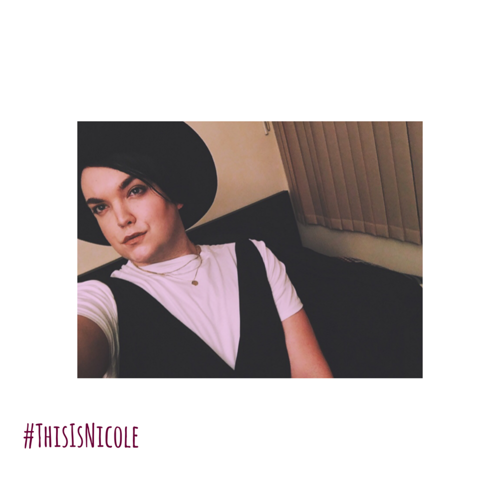 """#ThisIsNicole - PLAYED BY ELLE WILLIAMS.Elle Williams is enigmatic, charming, witty and a real go getter. Special skills? All of them hidden talents? None, all of her talents shine through. A 10/10 fully biological female human being woman. Ready to take over the world and stop at nothing to get what she wants. Or so she writes in her diary every night. In reality, her special skills are eating a large pizza to herself even though her body begs her not too. And her hidden talents include, but are not limited to, chugging a full bottle of $10 wine in 73 seconds. You can catch this ultra babe also in Bokeh Films pilot, """"The New Romantics""""."""