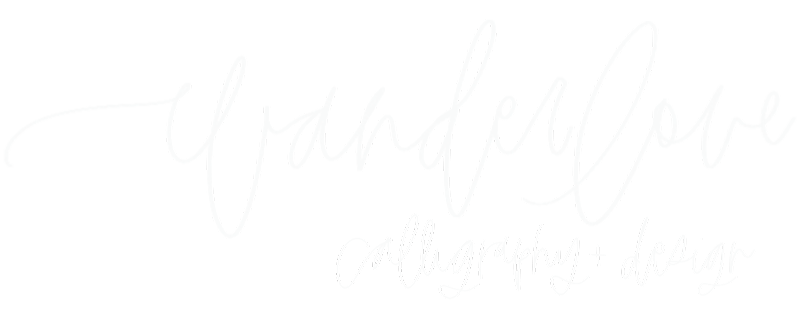 Wanderlove Calligraphy & Design in Manahawkin, NJ