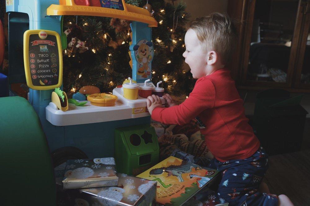 Lincoln on Christmas Morning