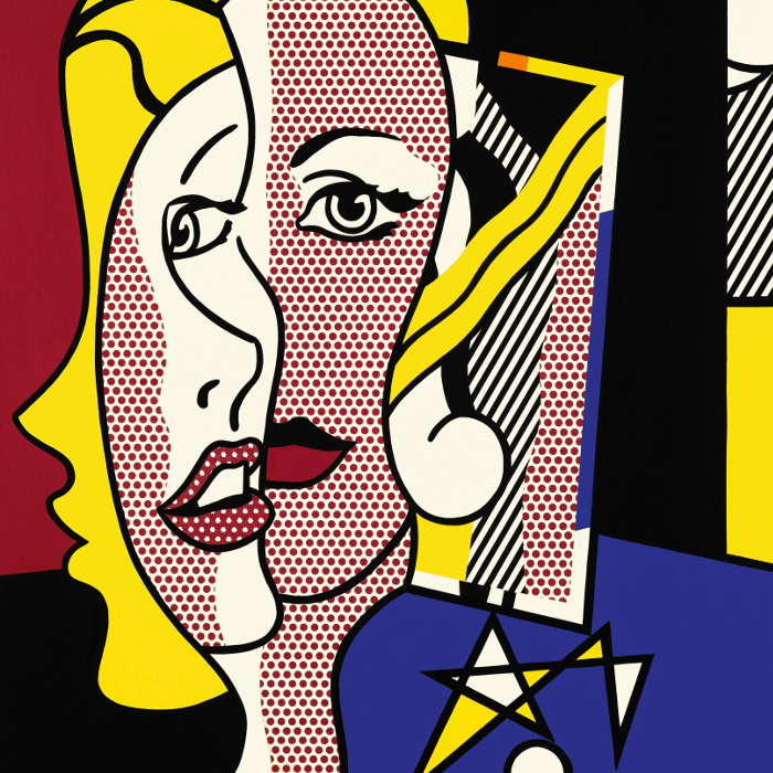 Cover art:  Roy Lichtenstein ,  Female Head  (crop)