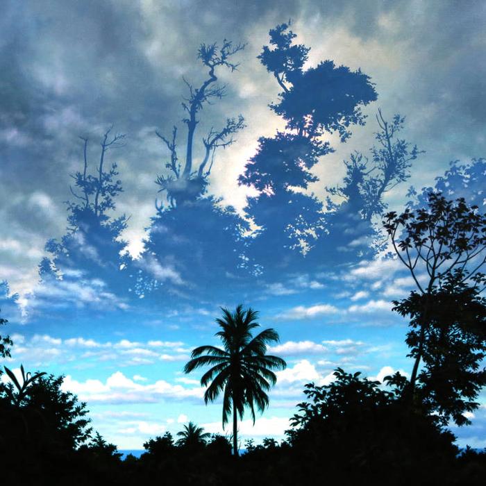 Cover art: Ian Hornak ,  Wordsworth in the Tropics  (crop)