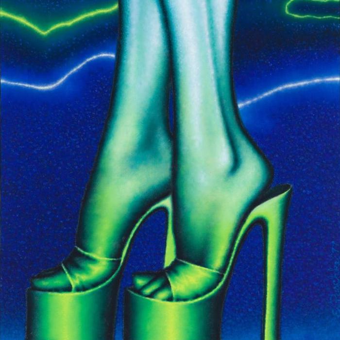 Cover art: Ed Paschke ,  Metal de Bleu  (crop)