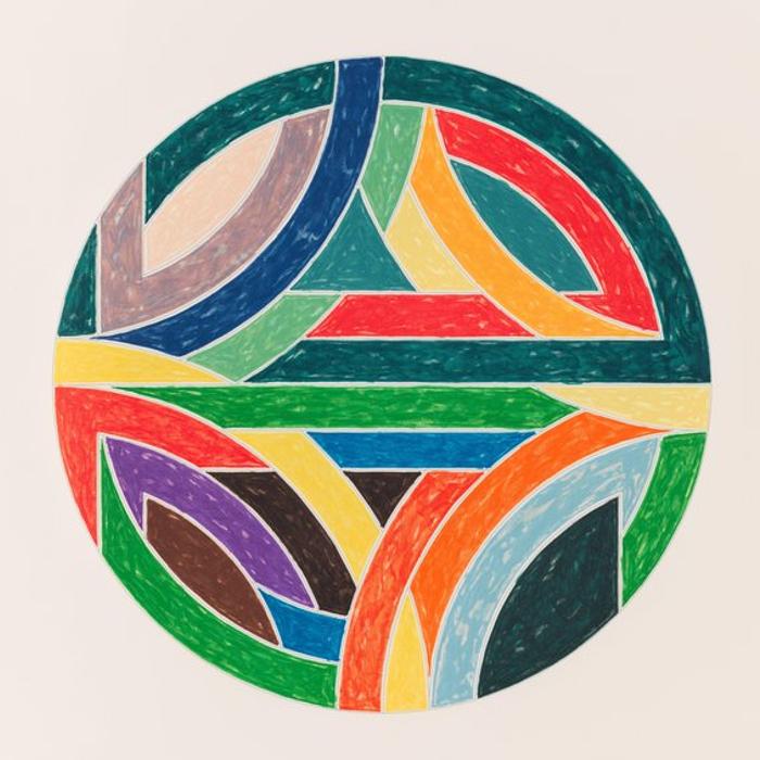 Cover art: Frank Stella , Sinjerli Variation IV