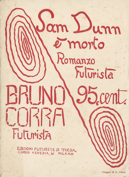Bruno Corra, Sam Dunn Is Dead [Milan; 1917] - A brief novel that can be read in any one of a number of ways: as a parody of nascent science-fiction (published in 1915, it's set in the late 1940s and early 1950s); as an exercise in stretching imaginative capabilities to their limits, with no regard for traditional canons of taste or morality (a discipline the Surrealists would later practice); or as a complete proto-Fascist novel of Creative Heroism (c.f. Gabriele D'Annunzio), only compressed and condensed into its most basic outline, an Al Frueh rendering of a Pre-Raphaelite mural.Corra, like many of the initial wave of Futurists, turned out to be a good little Fascist once Mussolini came along, and while there's some of that admiring regard for absolute power here, it's harder to disentangle from the ironic distance, deliberately absurd events, and mock-elegiac tone of the text than (I take it) would be the case with his later work. What remains compelling about the book is Corra's use of the fantastic as a metaphor for technological and cultural change, the sense so prevalent among his generation that so many absurdly impossible things had already happened, what would a few more be?March 23, 2017