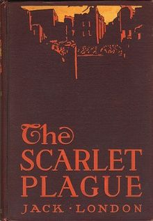 Jack London, The Scarlet Plague [New York; 1912] - A brief post-apocalyptic novella that is more extended parable than story, with some Naturalist pessimism as a chaser. London's pulpy imagination is the strongest thing about it, far better than his grasp of bacteriology, linguistics, or sociology. As he was a firm believer in both social darwinism and socialism, he's always going to be a problematic fave: but the influence of this story on the emergent sci-fi genre is probably incalculable. It predicts everything from Metropolis-style inequality-poetry to present-day zombie movies; a half-decent screenwriter could make a properly downbeat thriller out of it.August 6, 2017