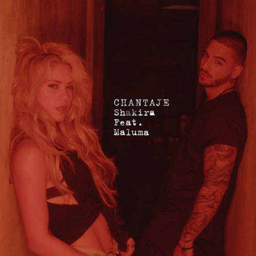 "86. Shakira ft. Maluma, ""Chantaje"""