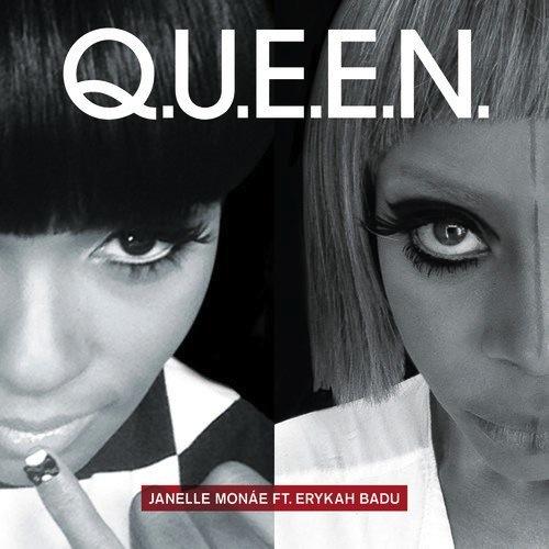 "4. Janelle Monáe ft. Erykah Badu, ""Q.U.E.E.N."""