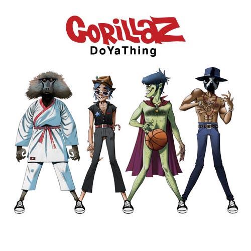 "100. Gorillaz ft. James Murphy & André 3000, ""DoYaThing"""