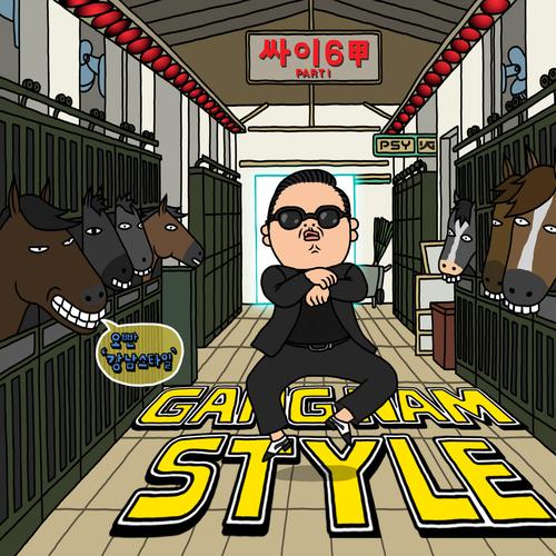"69. Psy, ""Gangnam Style"""
