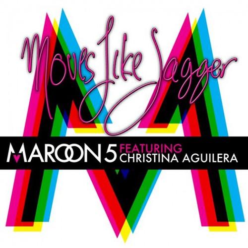 "94. Maroon 5 ft. Christina Aguilera ""Moves Like Jagger"""