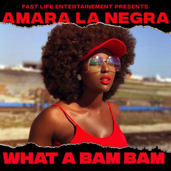 """4. Amara La Negra, """"What a Bam Bam"""""""