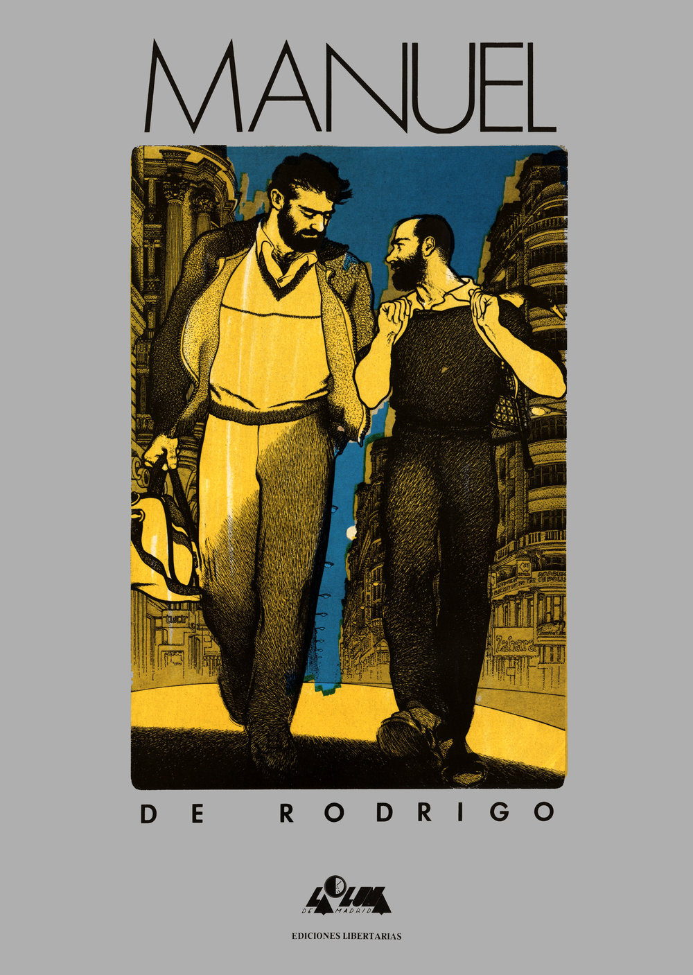 Cover to the original 1985 edition.