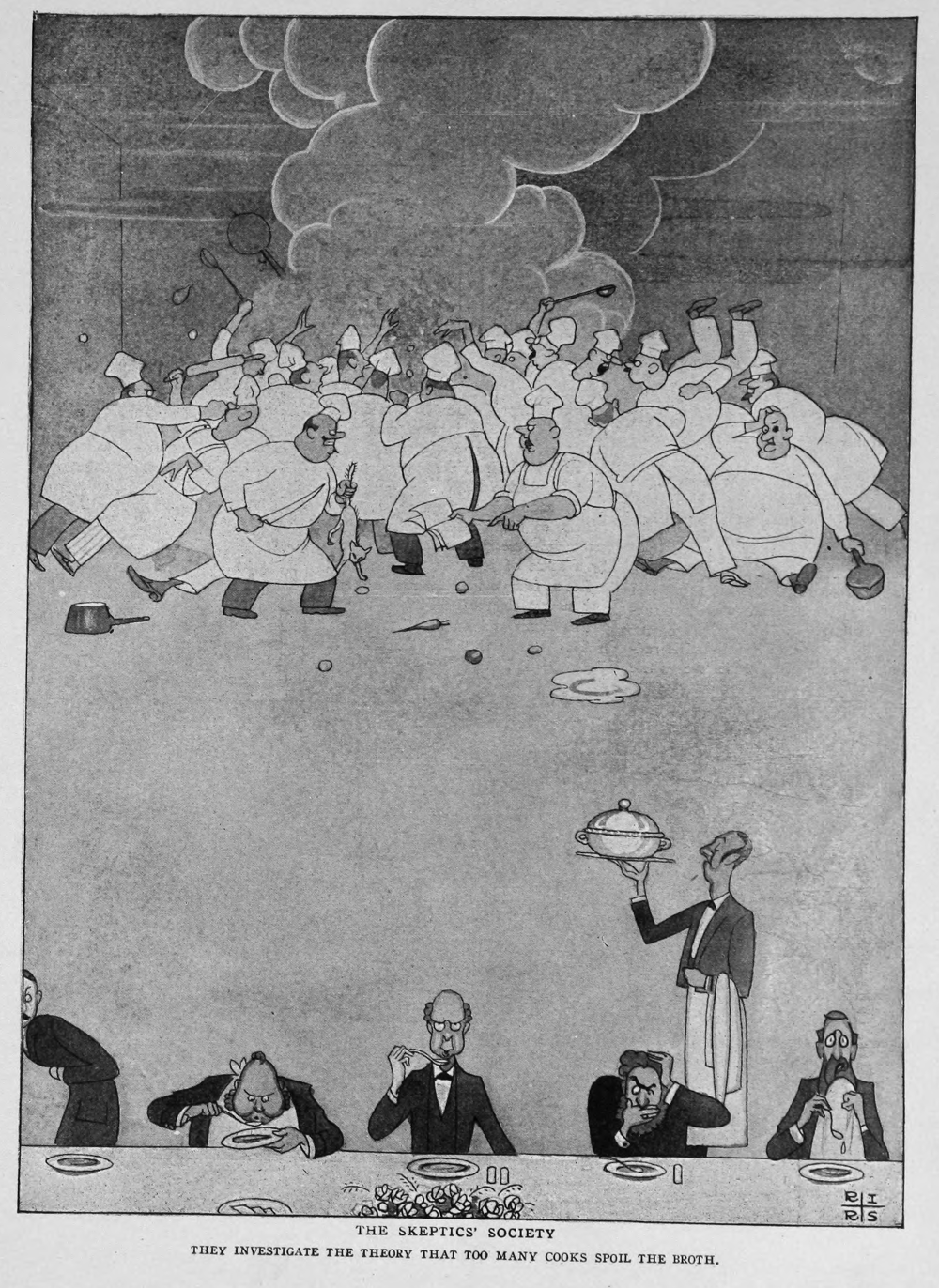 Life , October 25 1923.
