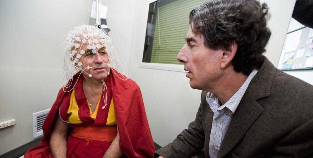Dr Richard Davidson's research in    neuroplasticity    has been ground breaking (   www.richardjdavidson.com   )