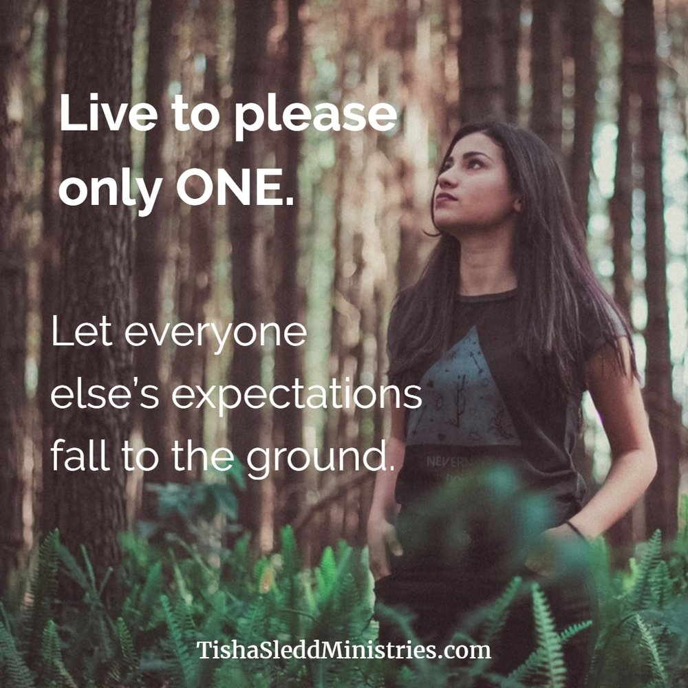 Live to please only one.jpg