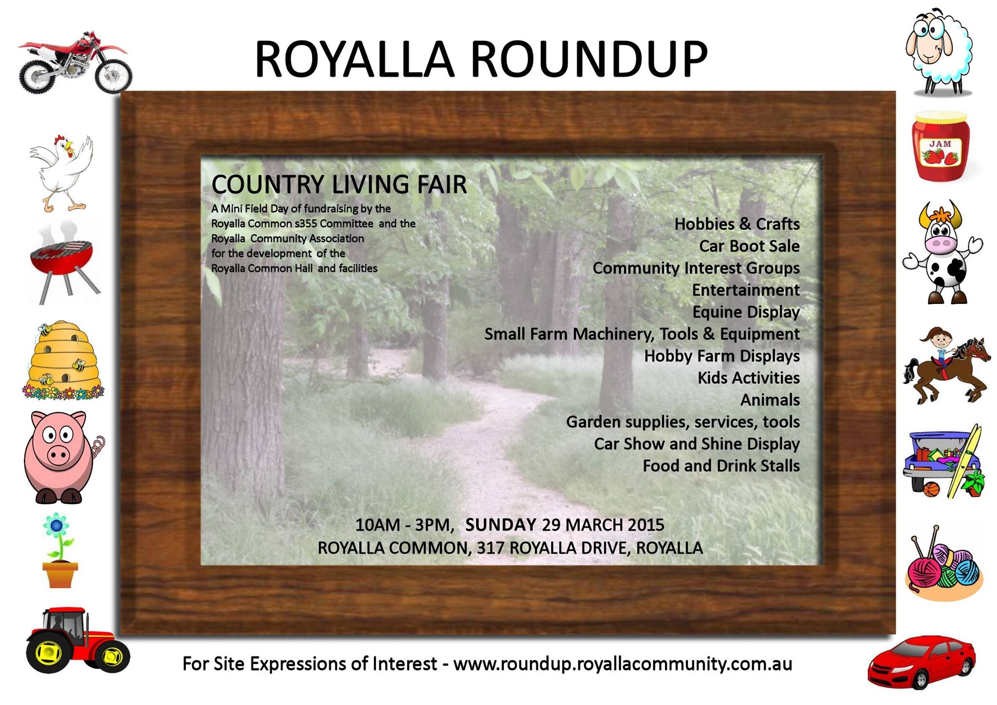 Royalla Roundup