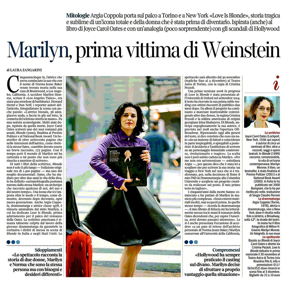 La Lettura/ Il Corriere della Sera – November 12th, 2017 – Page 48