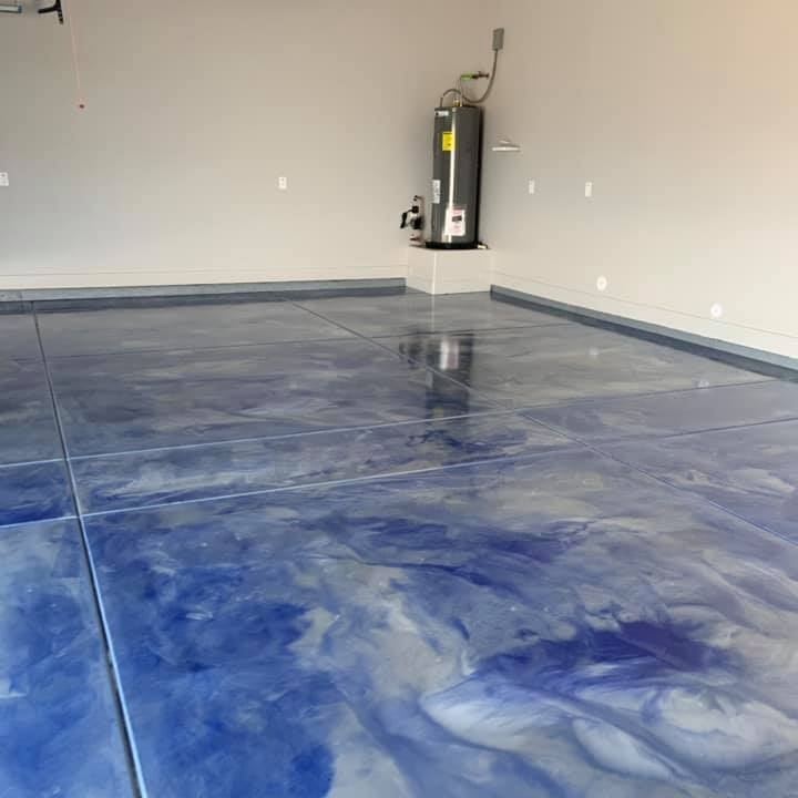 Epoxy Flooring For A Cleaner Garage Quick Response Garage Cabinets