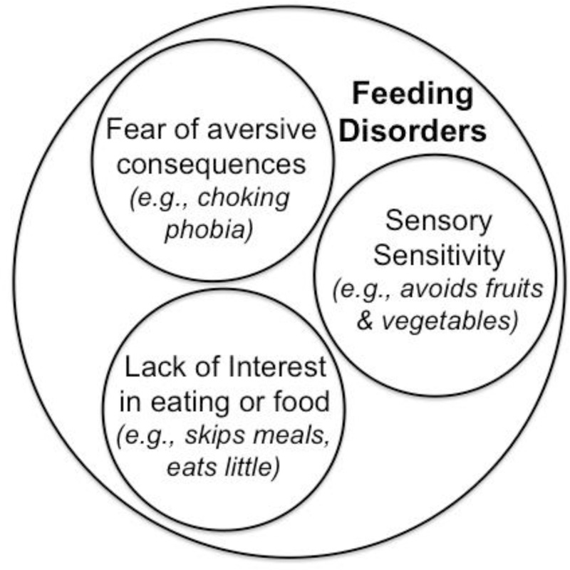 From   Avoidant/Restrictive Food Intake Disorder: A Three-Dimensional Model of Neurobiology with Implications for Etiology and Treatment  .