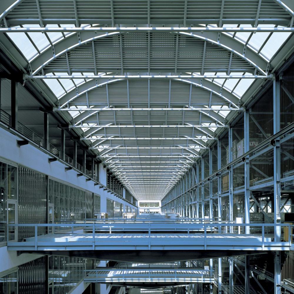 Cargo Terminal, CLK Airport, Foster & Partners