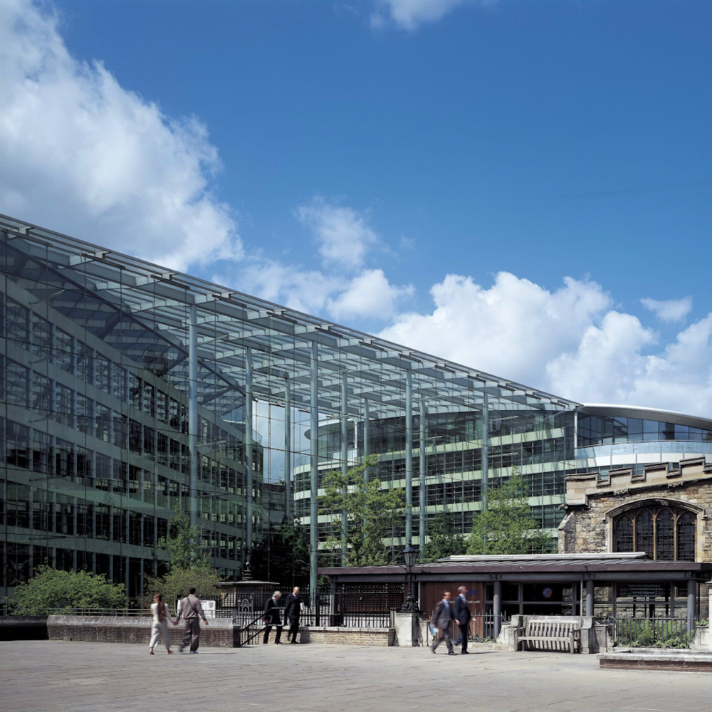 Tower Place, London, Foster & Partners