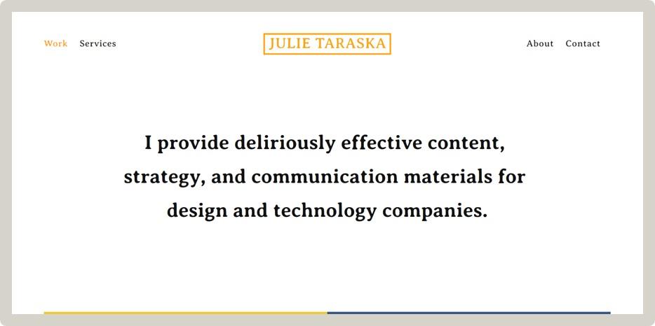 Julie Taraska -