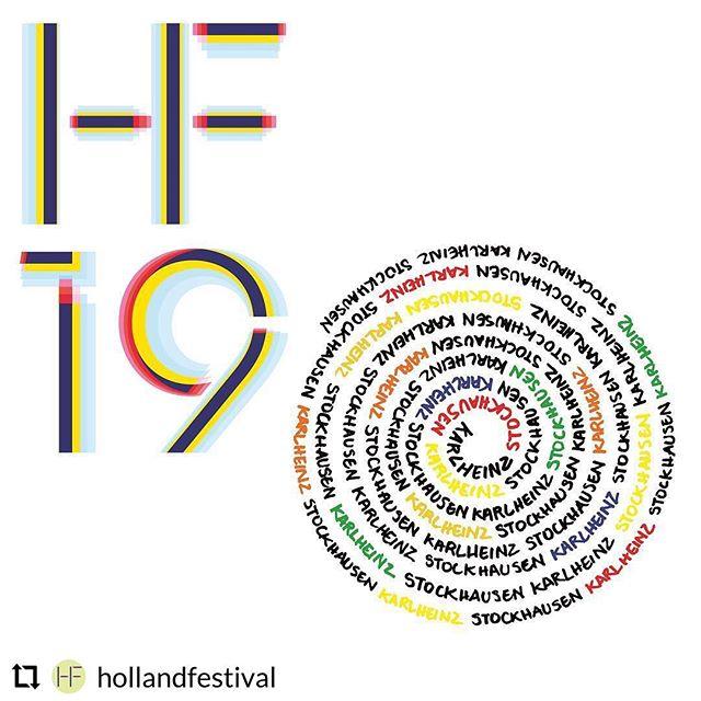 Looking forward to playing in this production! 🎺 #repost @hollandfestival - - - - - - #HF19 Karlheinz Stockhausen is niet zomaar een componist. Hij is de schepper van een compleet nieuw muzikaal universum. Zijn cyclus LICHT bestaat uit 7 opera's, één voor elke dag van de week. Alle opera's zijn afzonderlijk al uitgevoerd, maar voor de eerste keer ooit zijn nu grote scènes uit alle 7 opera's in een afgeronde cyclus te zien in aus LICHT. 15 uur muziek, in een mise-en-espace van Pierre Audi, verspreid over 3 dagen.  31 mei - 10 juni @westergasfabriek