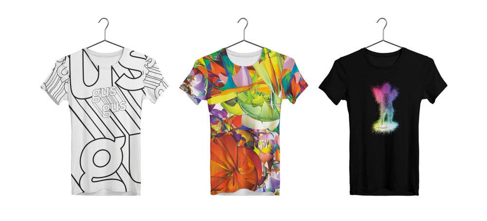 Tour T-Shirts.