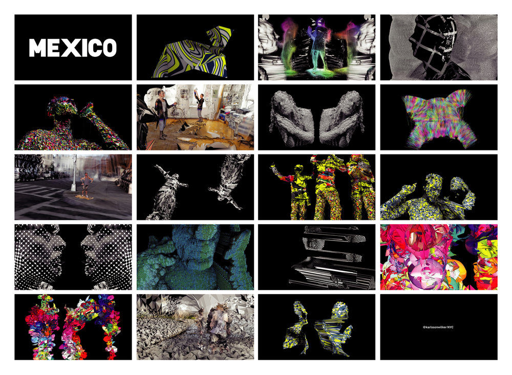 Mexico Music Video Storyboard.
