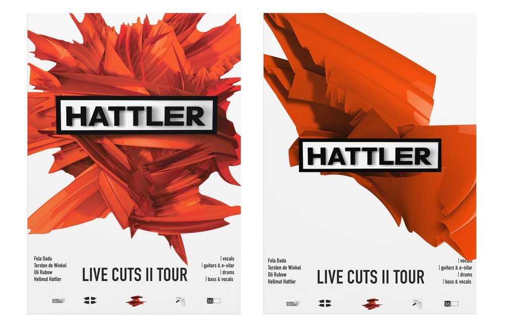 Live Cuts II Tour Posters.