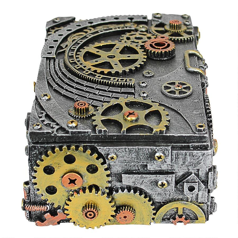 Steampunk Cog and Turbine Gearbox