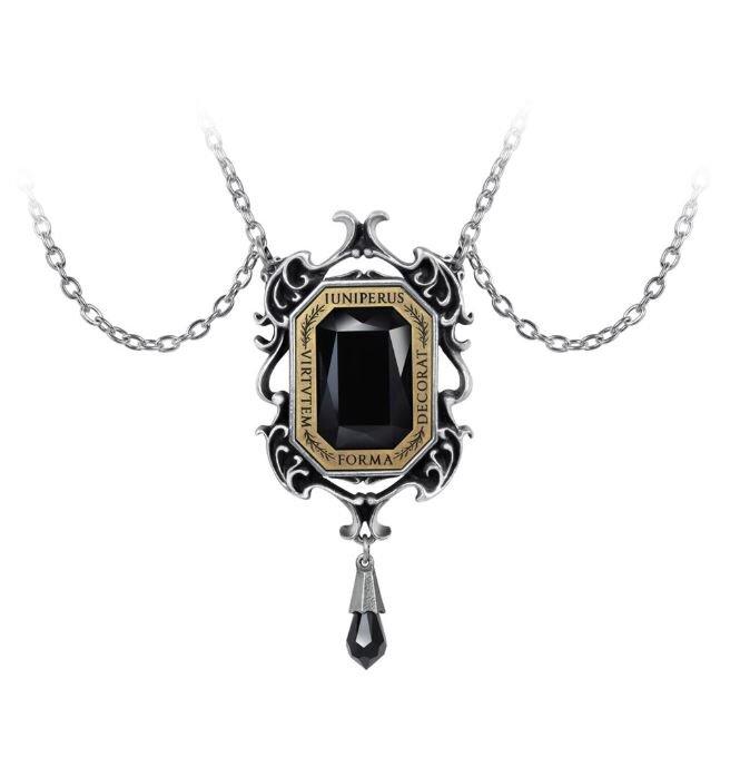 Steampunk Horned Bison Clockwork Necklace Gearwork Alloy Jewelry