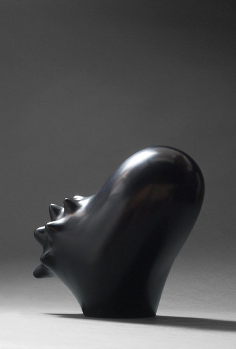 Black Life I  bronze - H 26 cm - edition 1 - not available