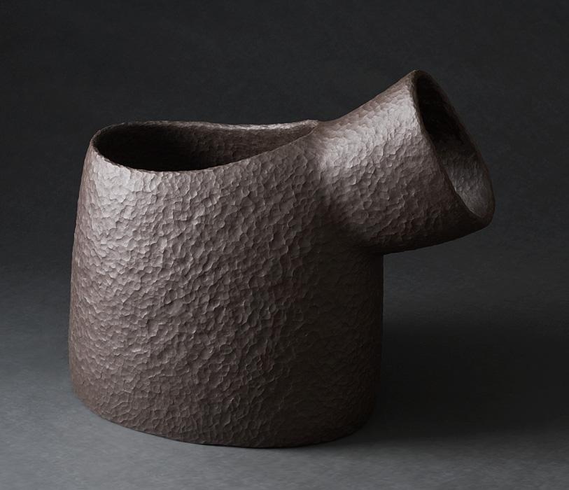 Light Horn  Keramik Europas Westerwaldpreis 2014 - Winner - Vessel Category - collection Keramikmuseum Westerwald