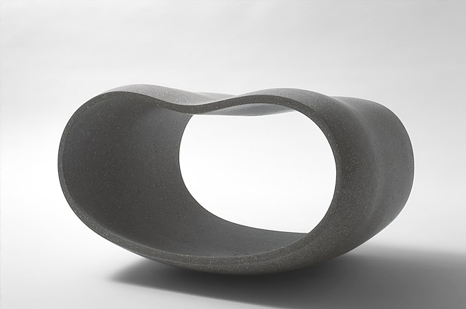 Empty Form VIII  L 42 cm - private collection